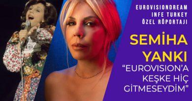 "SEMİHA YANKI: ""EUROVISION'A KEŞKE GİTMESEYDİM"""