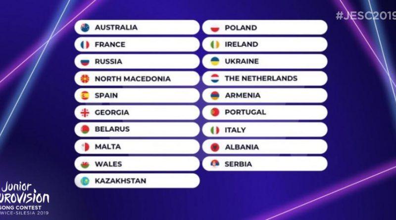 Eurovision Çocuk Şarkı Yarışması Sahne Sıralaması Belli Oldu!