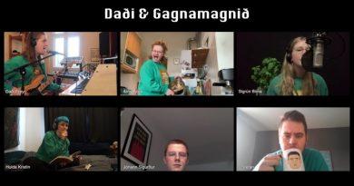 Daði & Gagnamagnið'den Karantina Performansı