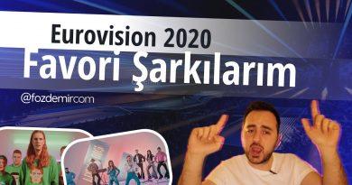 Blogger Fatih Özdemir'den Eurovision 2020 favorileri videosu